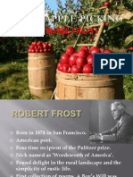After Apple Picking by Robert Frost