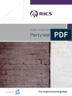 RICS Party Wall Guide