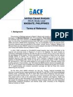 ACF Nutrition Causal Analysis (NCA) Study Lead