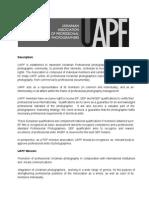 UAPF Resume