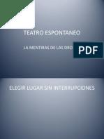 Teatro Espontaneo Drogas