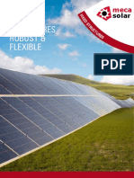 Photovoltaics Fixed Structures Mecasolar Catalog