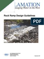 Rock Ramp Design Guidelines_09-2007