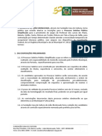 Edital - Processo Seletivo Fcc 2014 (1)