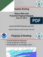 NWS briefing July 2