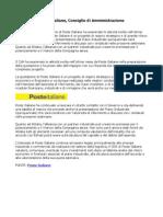 Poste Italiane, Consiglio Di Amministrazione
