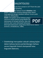 Presentasi Dialek