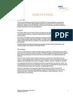 EMCC Code of Ethics