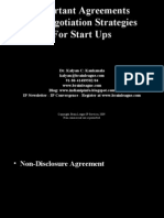 IP Agreements for Start Ups