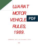 Gmv Rules 1989