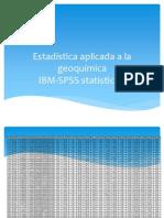 Estadística Aplicada a La Geoquímica