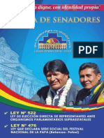 Ley de Eleccion Directa de Representantes Ante Organismos Parlamentarios Supraestatales - Ley Que Declara Sede Social de La Papa (Betanzos)