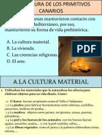 La Cultura de Los Primitivos Canarios