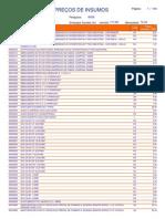 Preços Insumos Pr Mai 2013 Sem Desoneração