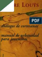 Manual de Urbanidad para Jovencitas - Pierre Louÿs.pdf
