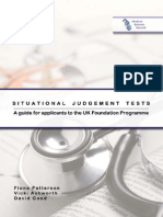 Situational Judgement Tests Monograph FINAL Oct 2012