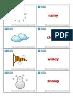 Weather Flashcard2