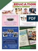 Education & Enrichment - July 2014 WKT