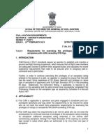 DGCA Renual Requirement