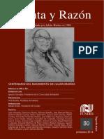 Julian Marias - 100 Años - Cuenta y Razon Revista30