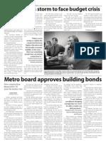 a6 • News • November 19, 2009 • the Metropolitan