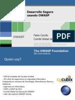 Desarrollo Seguro Usando OWASP