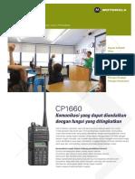 Motorola CP1660 VM Brochure AC9!04!017Rev.1 Indonesia Bahasa