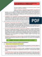 Cours Complet Sur Les Fondements Du Commerce International Et de l Internationalisation de La Production