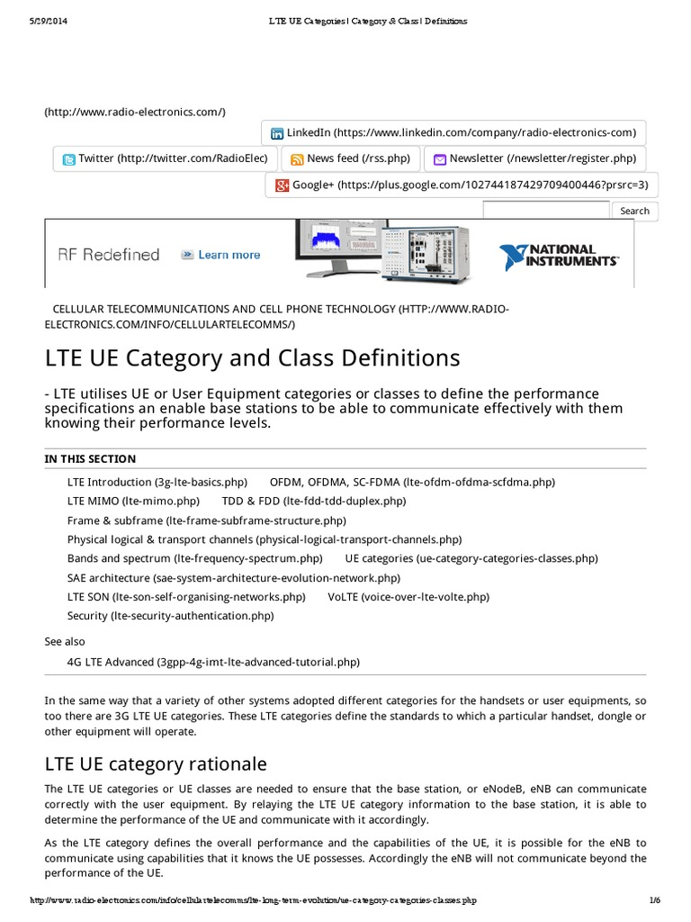 Lte ue categories category class definitions high speed lte ue categories category class definitions high speed packet access lte telecommunication baditri Gallery