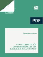 71. J. G. de Walque-Una interpretación contemporánea de los EE.pdf