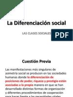 La Diferenciacion Social - Clases Sociales