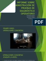 """Desarrollo II - Informe Administraciã""""n Pruebas de Diagnã""""Stico"""