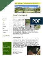 Programme Été Menuires 2014