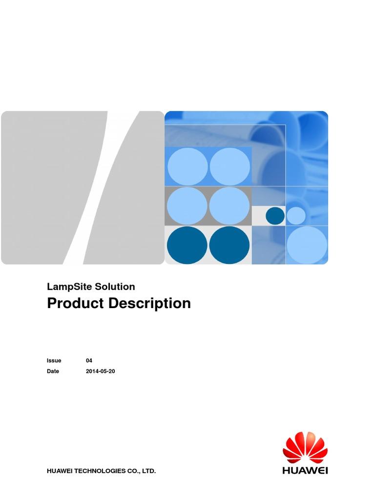 Schemi Elettrici Huawei : Lampsite solution product description 04 2014!05!20 lte