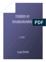 Des1 2007 Irradiation Tomodensitometrie