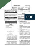 1.- Ley 29783 Ley de Seguridad y Salud en El Trabajo