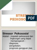 Stressor Psikososial
