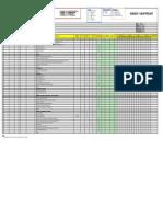 VENDOR DOCUMENT REGISTER LIST (VDRL) - AIR DIVING SERVICES