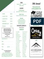 18th Annual William Floyd Scholarship Fund Golf Tournament
