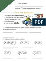 Guía 2º letra T
