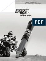 Float AirShox ATV Manual