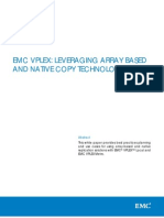 h12642 Wp Emc Vplex Leveraging Native and Array Based Copy Technologies