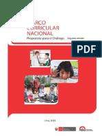 Marco Curricular 2da Version Para El Dialogo Abril 2014