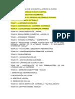 Curso de Derecho Laboral en El Peru