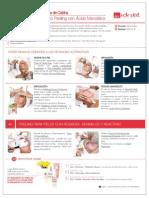 Peeling Para Pieles Con Rosacea Sensibles y Reactivas Con Acido Mandelico