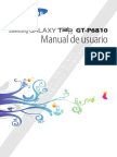 Manual Tabla Galaxy GT-P6810