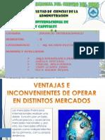 Mercado Internacional de Creditos y Capitales Exposicion