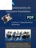 Administración de Recursos Humanos Capitulo 7