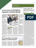 Inversionistas Extranjeros Regresan a La BVL_Gestión 2-07-2014