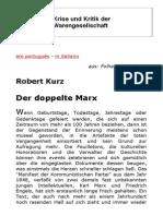 Robert Kurz - Der Doppelte Marx
